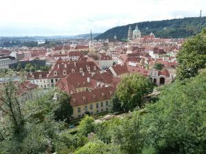 Ein Blick über die Altstadt von Prag
