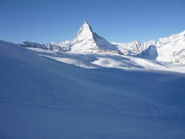 Winterlandschaft rund um das Matterhorn