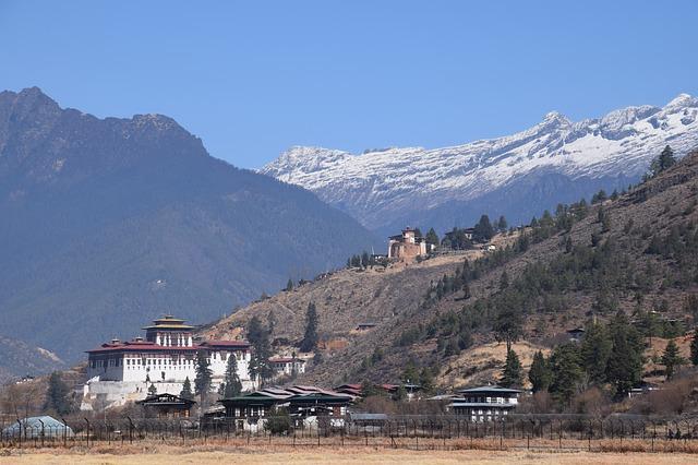 Paro, ein Wahrzeichen in Bhutan
