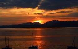 Abendliche Stimmung am Gardasee